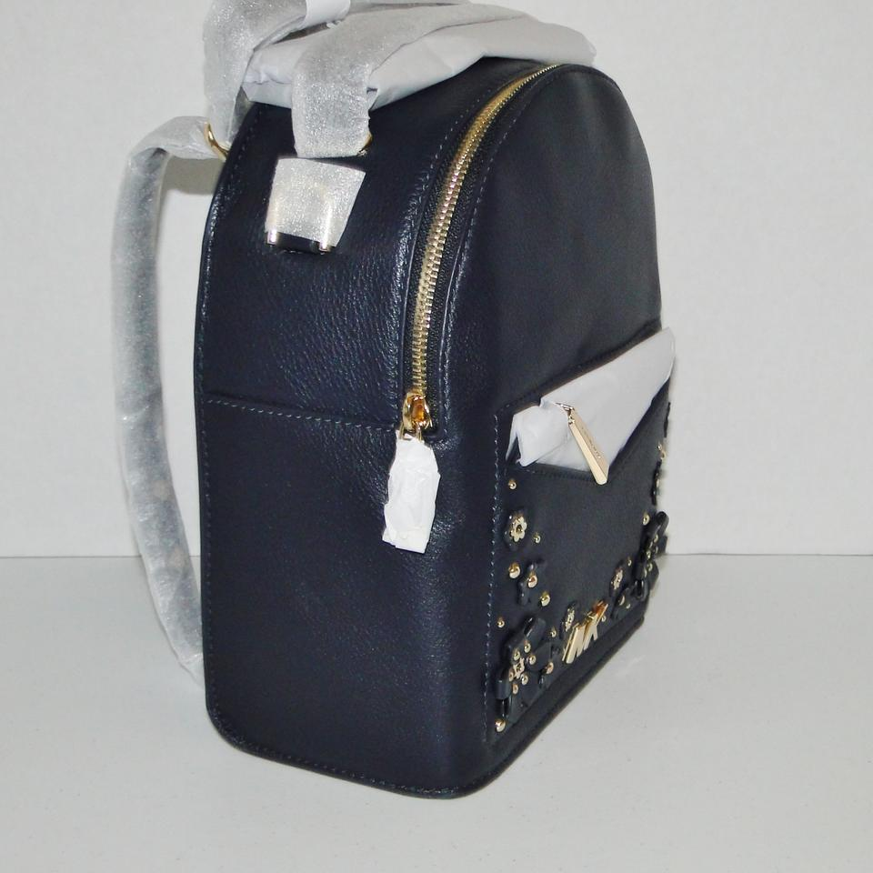 52e9be2016 Michael Kors Small Jessa Leather Convertible Backpack Image 11.  123456789101112