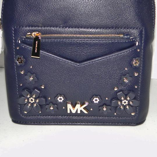 Michael Kors Small Jessa Leather Convertible Backpack Image 6