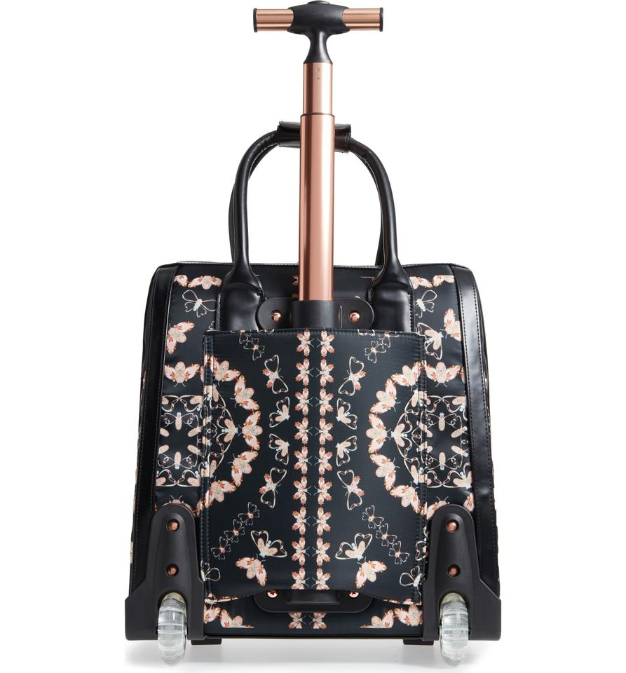 Embers Lining Bee Fabric Ted Weekend and Bag Black London Queen Upper Fabric Travel Pu Baker PYwPIqEf