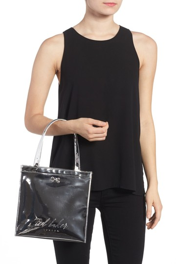 Ted Baker Tote in Silver Image 1