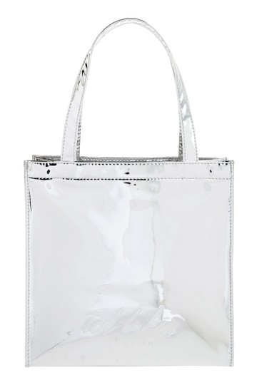 Ted Baker Tote in Silver Image 2