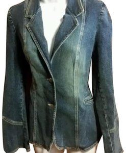 Serfontaine Blazer Denim Womens Jean Jacket