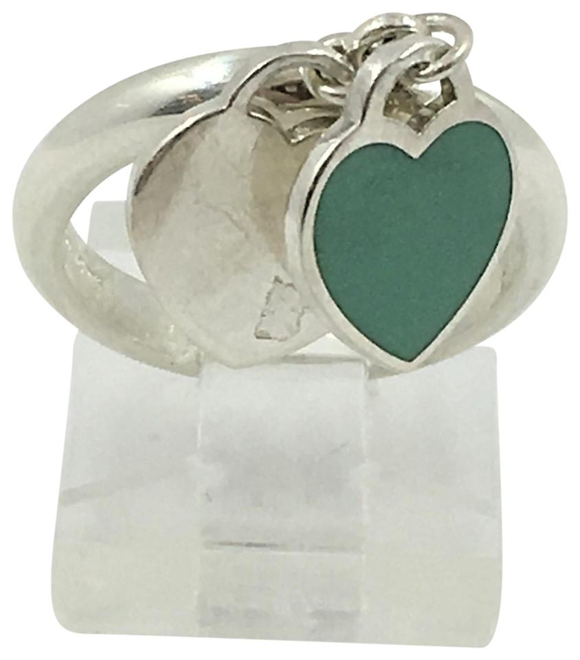 e447288ec Tiffany & Co. Tiffany & Co. Return To Tiffany Double Heart Tag Ring Image  ...