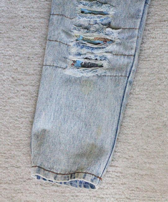 Golden Star USA Distressed Boyfriend Cut Jeans-Distressed
