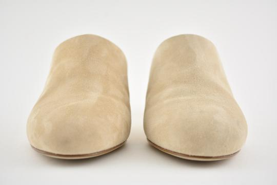 Chanel Slide Backless Quilted Stiletto beige Mules Image 3