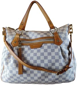 Louis Vuitton Tote in Blue & White