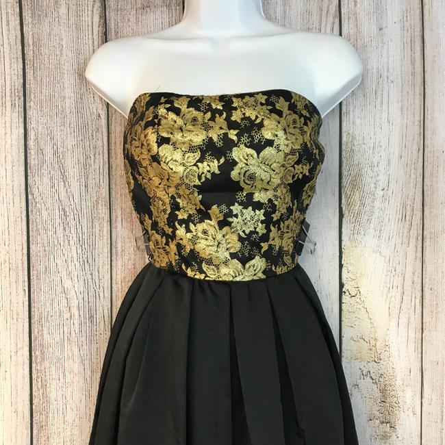 Mignon Gold And Vintage Dress Image 1