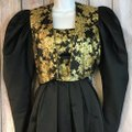 Mignon Gold And Vintage Dress Image 3