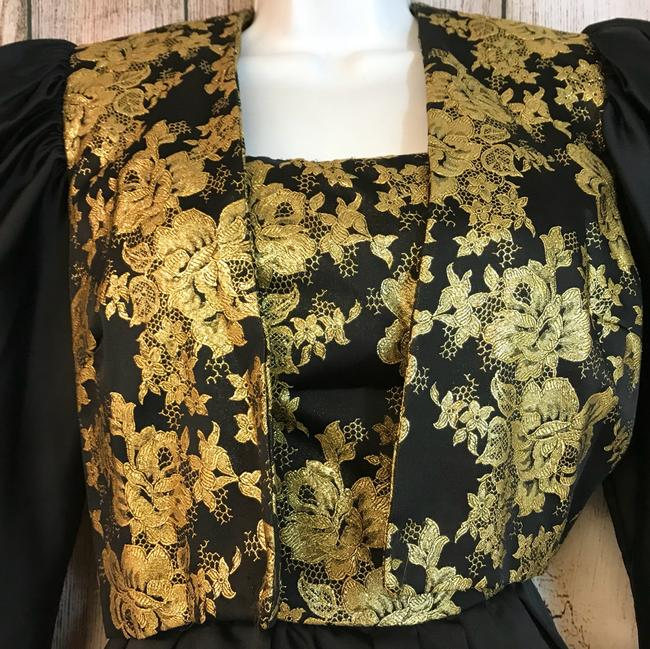 Mignon Gold And Vintage Dress Image 5