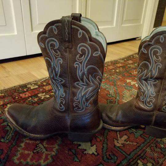 1424bed1364 Ariat Brown Ladies Legend Western Oiled Square To Mint Retails  Boots/Booties Size US 8 Regular (M, B) 62% off retail
