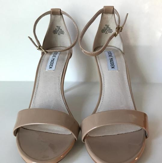 Steve Madden Silly Blush Nude Stacy Stecy Small Heels beige Sandals Image 5