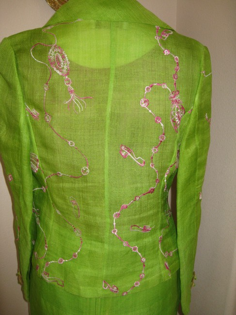Silk Cacoon Pure Silk One of Kind 3 piece Suit