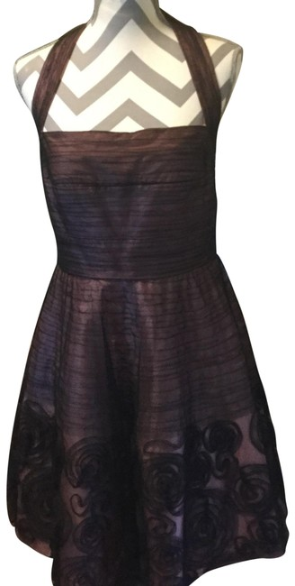 Preload https://img-static.tradesy.com/item/23754807/jessica-simpson-brownpink-brownpink-halter-condition-cocktail-mid-length-night-out-dress-size-petite-0-1-650-650.jpg