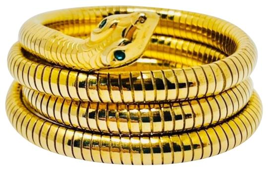 Preload https://img-static.tradesy.com/item/23754849/gold-art-deco-circa-1920s-14k-rolled-plated-rgp-snake-coiled-bracelet-0-5-540-540.jpg
