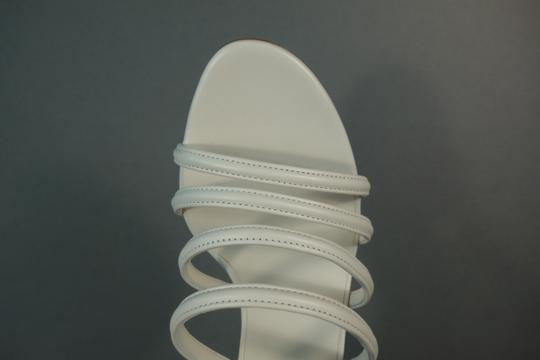 Chanel White Ivory Cream Sandals Image 9