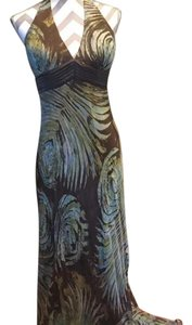 Nina Austin Halter Gown Prom Cocktail Formal Party Dress