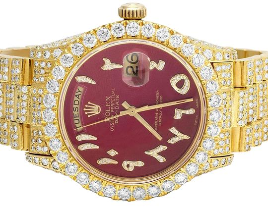 Preload https://img-static.tradesy.com/item/23754965/rolex-yellow-gold-18k-18038-day-date-president-red-36mm-diamond-2235-ct-watch-0-1-540-540.jpg