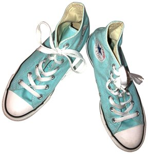 aa0ab8bbd08 Converse Pure Teal Unisex Chuck Taylor All Star High Tops Sneakers ...