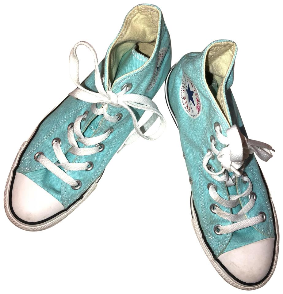 59bc77b125400 Converse Pure Teal Unisex Chuck Taylor All Star High Tops Sneakers Size US  7 Regular (M, B) 54% off retail