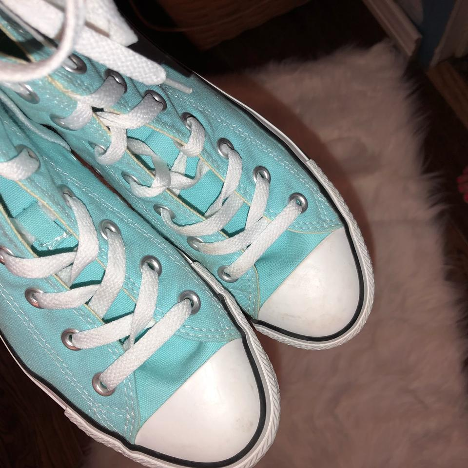4bee02374bc1 Converse Pure Teal Unisex Chuck Taylor All Star High Tops Sneakers ...