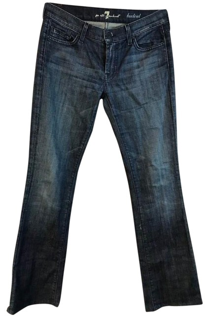 Preload https://item1.tradesy.com/images/7-for-all-mankind-blue-medium-wash-denim-cotton-blend-boot-cut-jeans-size-28-4-s-23755370-0-2.jpg?width=400&height=650
