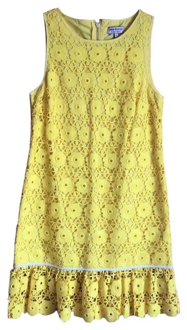Preload https://img-static.tradesy.com/item/23755380/juicy-couture-yellow-mid-length-short-casual-dress-size-2-xs-0-1-650-650.jpg