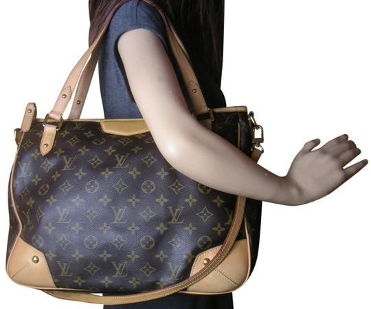 Preload https://item3.tradesy.com/images/louis-vuitton-estrela-mm-brown-leather-and-coated-canvas-shoulder-bag-23755392-0-1.jpg?width=440&height=440