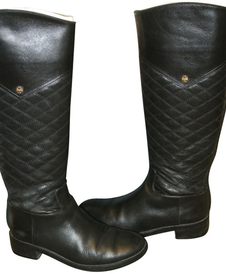 Preload https://img-static.tradesy.com/item/23755475/tory-burch-black-claremont-bootsbooties-size-us-75-regular-m-b-0-1-540-540.jpg