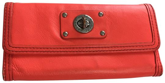 Preload https://item5.tradesy.com/images/marc-by-marc-jacobs-bright-orangecoral-leather-wallet-23755479-0-1.jpg?width=440&height=440
