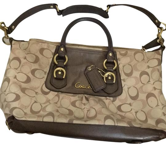Preload https://item1.tradesy.com/images/coach-brown-leather-satchel-23755490-0-1.jpg?width=440&height=440