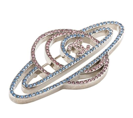 Chanel AUTHENTIC CHANEL PLANET CRYSTAL SPARKLING BROOCH PIN RARE 2017 RUNWAY