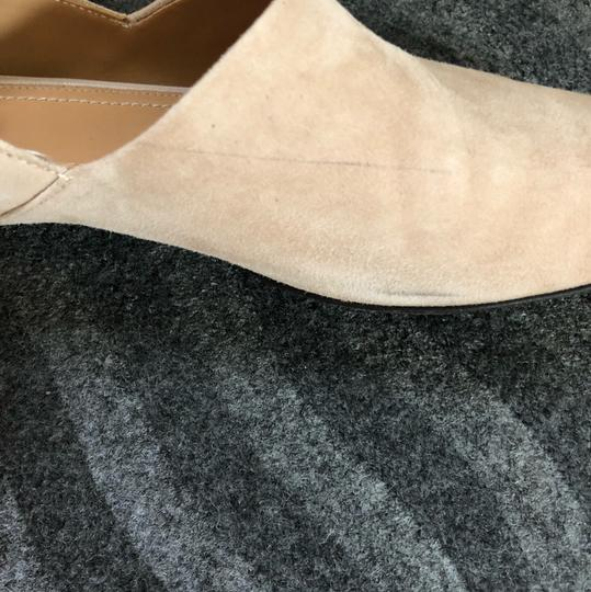 The Row camel suede Flats