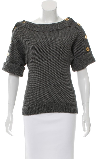 Preload https://img-static.tradesy.com/item/23755637/gucci-back-and-grey-sweaterpullover-size-4-s-0-1-650-650.jpg