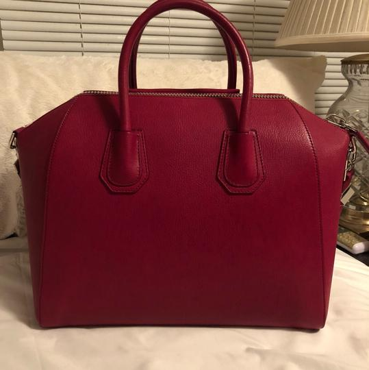 Givenchy Satchel in Raspberry