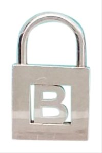 Tiffany & Co. Tiffany & Co. Co Sterling Silver Alphabet Letter B Be Padlock Pendant