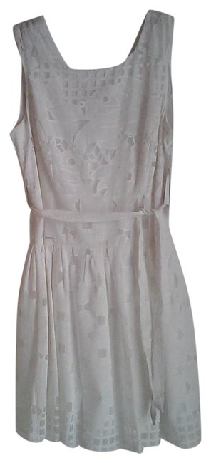 Item - White Lace Mid-length Night Out Dress Size 16 (XL, Plus 0x)