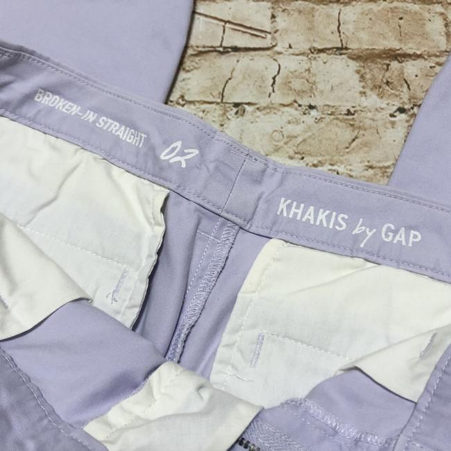 Gap Khaki/Chino Pants Purple