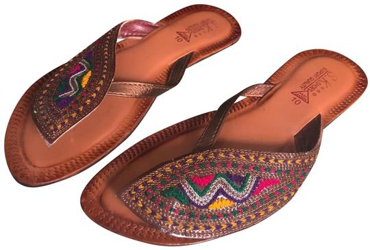 Preload https://item2.tradesy.com/images/brown-embroidered-indian-sandals-size-us-75-regular-m-b-23755916-0-1.jpg?width=440&height=440