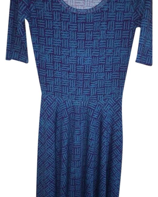 Preload https://item5.tradesy.com/images/lularoe-blue-and-purple-nicole-mid-length-short-casual-dress-size-00-xxs-23755999-0-1.jpg?width=400&height=650