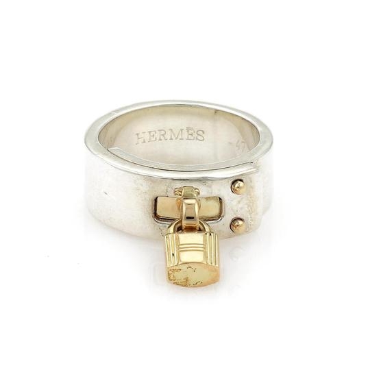 Preload https://item3.tradesy.com/images/hermes-ring-sterling-18k-yellow-gold-padlock-drop-charm-band-size-47-us-35-ring-23756007-0-0.jpg?width=440&height=440