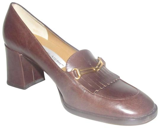 Preload https://item5.tradesy.com/images/etienne-aigner-brown-leather-with-gold-horse-bit-accent-shoesdesigner-pumps-size-us-6-regular-m-b-23756014-0-1.jpg?width=440&height=440