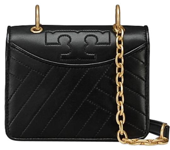 Preload https://item4.tradesy.com/images/tory-burch-new-quilted-logo-mini-shoulder-black-leather-cross-body-bag-23756033-0-1.jpg?width=440&height=440
