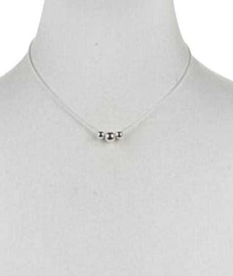 Preload https://item2.tradesy.com/images/-silver-triple-ball-beaded-chain-necklace-23756061-0-1.jpg?width=440&height=440