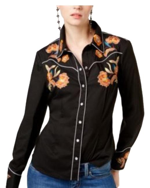 Preload https://img-static.tradesy.com/item/23756147/inc-international-concepts-black-embroidered-button-down-top-size-10-m-0-1-650-650.jpg