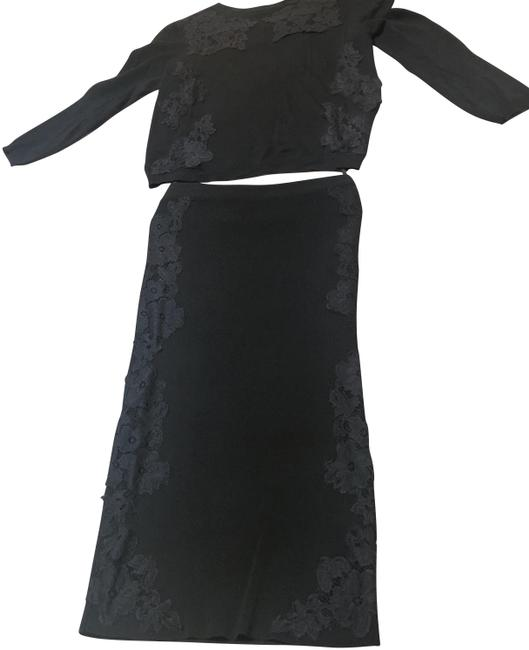 Preload https://item2.tradesy.com/images/zara-black-two-pieces-mid-length-night-out-dress-size-4-s-23756186-0-1.jpg?width=400&height=650