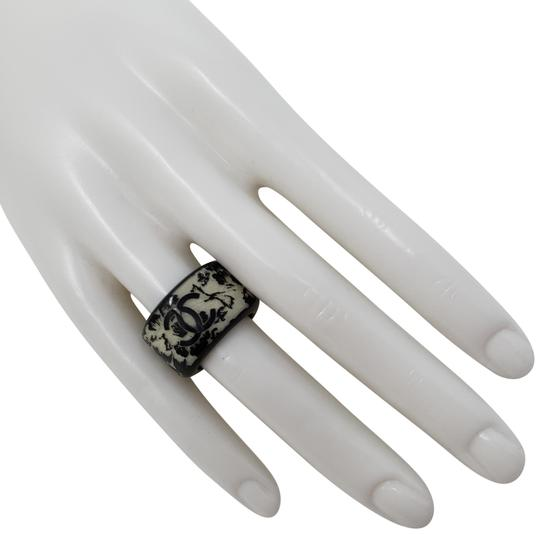 Preload https://item5.tradesy.com/images/chanel-silver-black-silver-tone-interlocking-cc-wide-band-ring-23756194-0-3.jpg?width=440&height=440