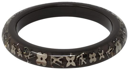 Preload https://item1.tradesy.com/images/louis-vuitton-grey-gold-silver-clear-resin-inclusion-bangle-bracelet-23756200-0-2.jpg?width=440&height=440