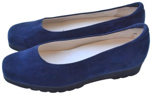 Peter Kaiser navy blue Wedges