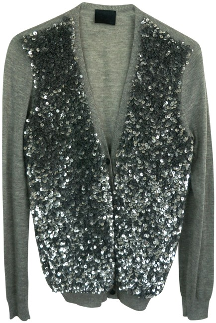 Lanvin Embellished Sequin Sweater Cardigan