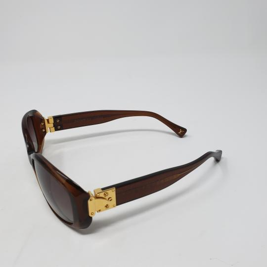 Louis Vuitton Glitter honey acetate Louis Vuitton Obsession Rond sunglasses